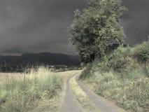 Storend landschap Stock Fotografie