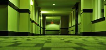 Storende hotelgang royalty-vrije stock foto