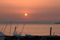 Storende zonsopgang Stock Fotografie