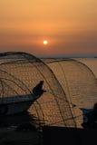 Storende zonsopgang Stock Foto's