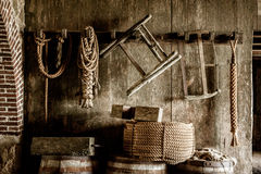 Storeroom at the Fortress Stock Photography