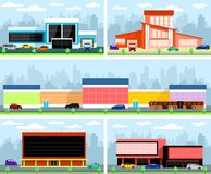 Stores and malls Stock Photo