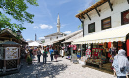 Stores in Mostar Royalty Free Stock Photos