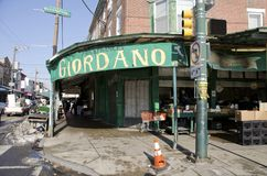Philadelphia Italian Market Stock Photo