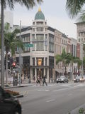 Stores at Rodeo Drive Royalty Free Stock Photos