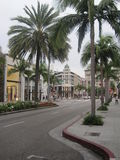 Stores at Rodeo Drive Royalty Free Stock Photo