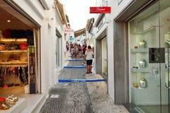 Stores in Santorini Stock Photo