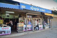 Stores in Siem Reap,Cambodia Stock Photo