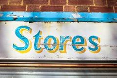 Stores sign Stock Photos