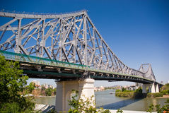 Storey Bridge: Brisbane Austra. Storey Bridge (road bridge): Brisbane Australia Royalty Free Stock Photography