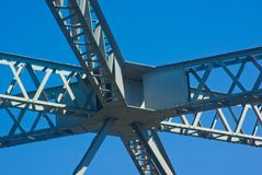 Storey Bridge Girders: Brisban Stock Images