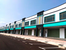 2 Storey Commercial Building Stock Photo