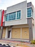 2 Storey Commercial Building Stock Image