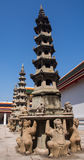 7-storey pagoda royalty free stock images
