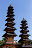 Storey roof Hindu temple Stock Photography