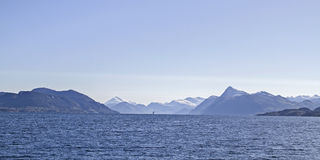 Storfjorden Royalty Free Stock Image