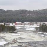 Storforsen in Norrbotten Stock Image