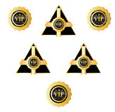 storgubbetecken och emblem Arkivfoto