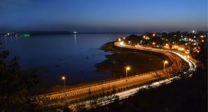storgubbeväg Bhopal Royaltyfria Bilder