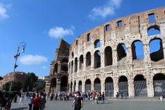 Storia antica di Colosseum, Roma, Italia fotografia stock