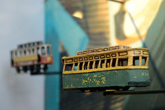 Storia del tram Immagine Stock Libera da Diritti