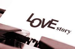 Storia di amore Fotografie Stock