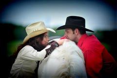 Storia di amore Fotografie Stock Libere da Diritti