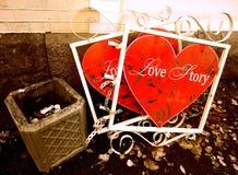 Storia di amore fotografia stock libera da diritti