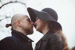 Storia di amore sparata di una coppia Fotografia Stock Libera da Diritti