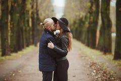 Storia di amore sparata di una coppia Immagine Stock Libera da Diritti