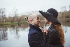 Storia di amore sparata di una coppia Immagini Stock Libere da Diritti