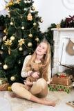 Storia di Natale Fotografia Stock
