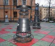 Storia di scacchi Fotografie Stock