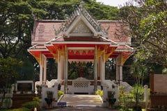 Storia tailandese della costruzione Immagini Stock Libere da Diritti