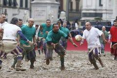 Storico di Calcio, Firenze, Italia Fotografia Stock Libera da Diritti