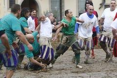 Storico di Calcio, Firenze, Italia Fotografia Stock