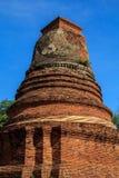 Storico e achcient le rovine a Ayutthaya Fotografia Stock