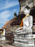 Storico-parco di Ayutthaya Immagini Stock