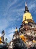 Storico-parco di Ayutthaya Fotografia Stock