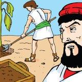 Storie della bibbia - la parabola del fico Fotografia Stock Libera da Diritti