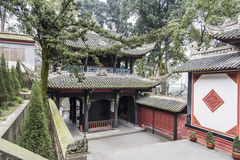 Storied building in Erwang temple Royalty Free Stock Photography