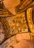 Stories of Jesus on Chora Church Ceiling Stock Photography