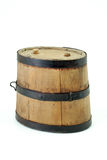 Storing Tequila. Close up  of wooden, Mexican tequila keg Royalty Free Stock Image
