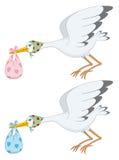 Stork stock illustration