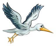 Stork Cartoon Bird Royalty Free Stock Photos