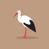 Stork. Vector Illustration Royalty Free Stock Photography