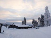 Storklinten, montagnes en Suède Images libres de droits