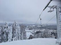 Storklinten, montagnes en Suède Photos stock