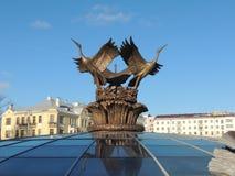 Storkskulptur Royaltyfri Fotografi