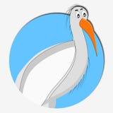 Storksymbolsdjur Royaltyfri Foto